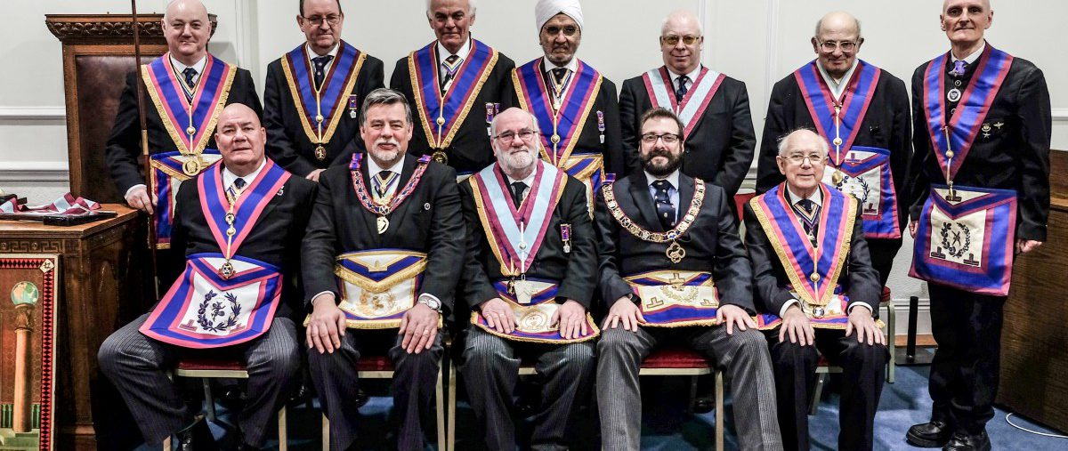 W Bro Clifford Sturt, PGJD, APGM visits Panmure Lodge No 139, 28th February 2018