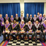 Deputy Provincial Grand Master Tom Quinn visit to Eclectic & Empress Britannic Mark Lodge, No. 410 on 15th March 2018