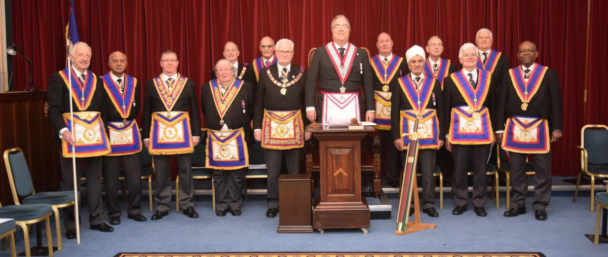 Full Team Visit to Hibernia Lodge by PGM David Ashbolt and a Team of Provincial Officers