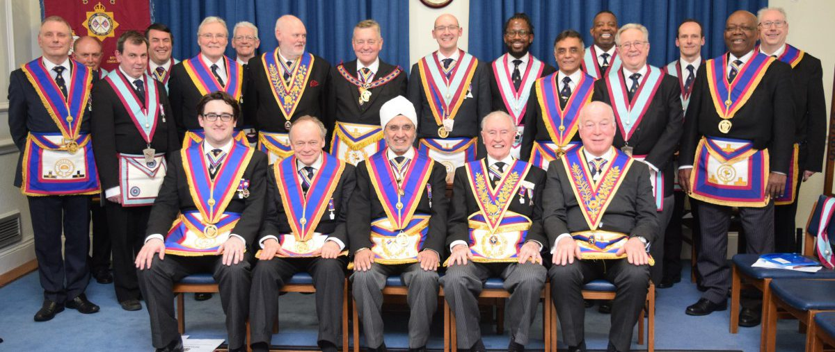 APGM Henry Hobson visits Royal Colonial Institute on 9th March 2018