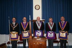 W Bro Harvey Roland, PGSD, Provincial Grand Senior Warden visits Pro Minimis Lodge No 1160 – 1st March 2018