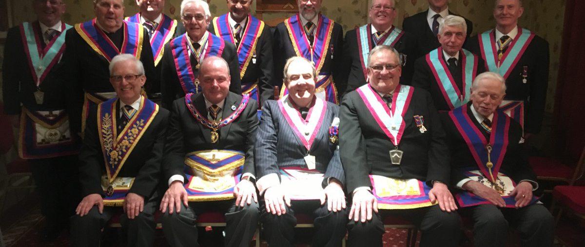 Tim MacAndrews APGM visits Camden Lodge