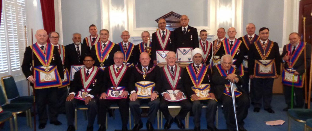 APGM Tim MacAndrews and his Delegation visit Composite Lodge on Thursday 26th April