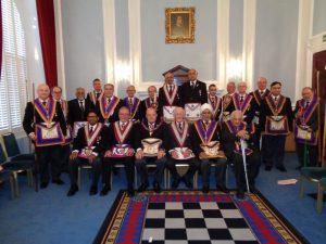 APGM Tim MacAndrews and his Delegation visit Composite Lodge on Thursday 26th April