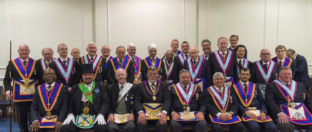 APGM gives Lecture on the Historical Mark Degrees to Britannic Lodge, No. 433