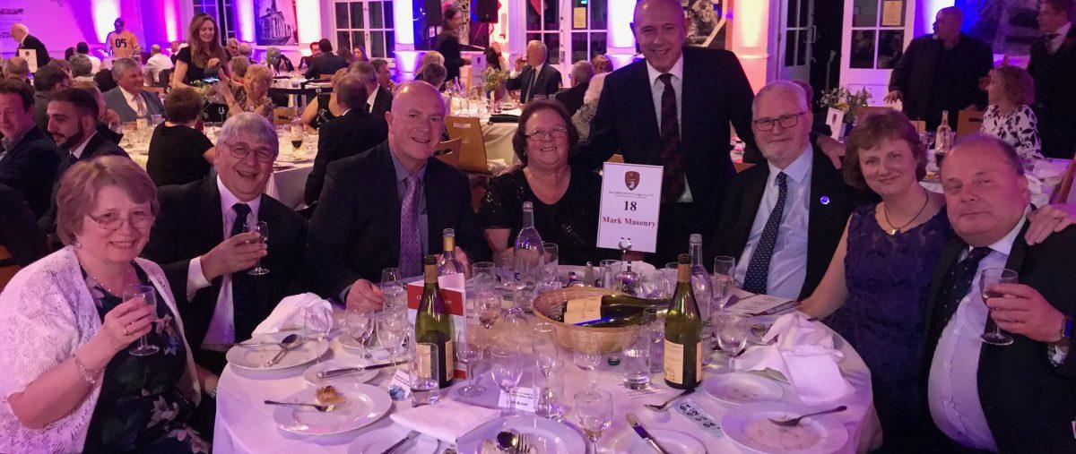 London Mark Masonry represented at Cholmeley Lodge's 140th anniversary