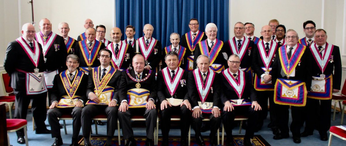 APGM W Bro Tim MacAndrews PGJD and a Delegation attend Highgate Lodge No.1909 on 7th April