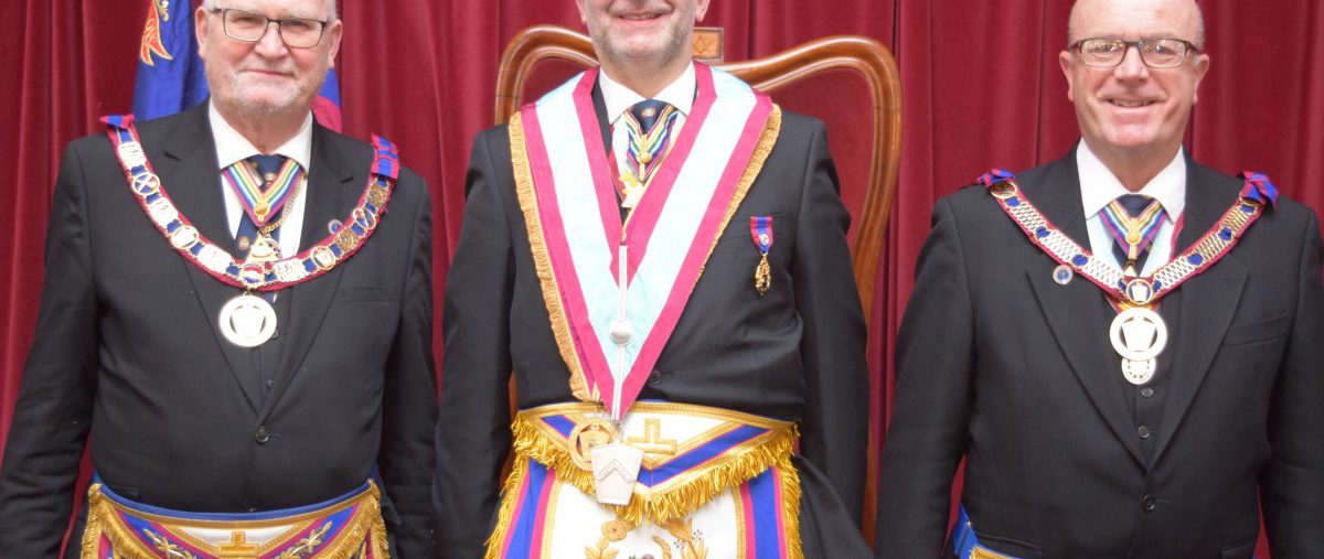 Consecration of Loyalty Lodge No 1989 by the PGM, David Ashbolt and a full Provincial Consecration Team
