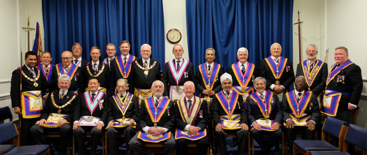 Visit to Horus Lodge No. 633 by our PGM R.W. Bro David Ashbolt and his Delegation, 23rd May 2018