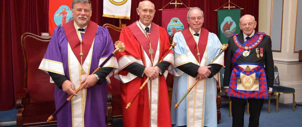 The Royal Arch comes to Mark Masons' Hall 1st May 2018