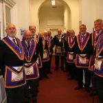 W Bro Tom Quinn, PGJD, DepProvGM visits Southwark Lodge No 22, 9th May 2018