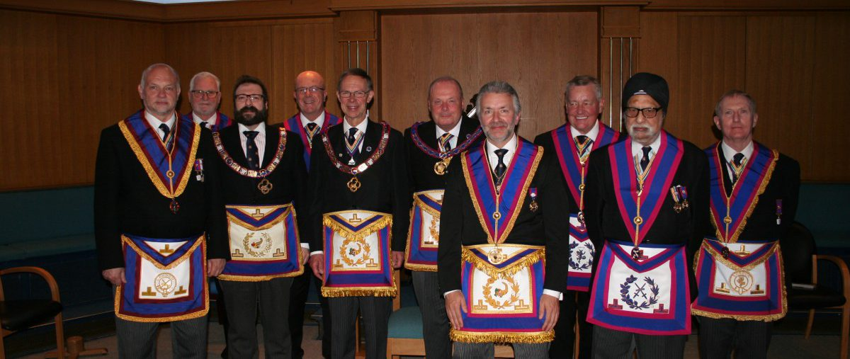 W Bro Tim MacAndrews, PGJD, APGM visits Henniker Lodge No 315 - 11th May 2018