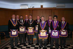W Bro Tim MacAndrews, PGJD, APGM visits Henniker Lodge No 315 – 11th May 2018