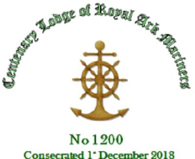 Consecration of Centenary RAM Lodge No.1200 on 1 December, 2018