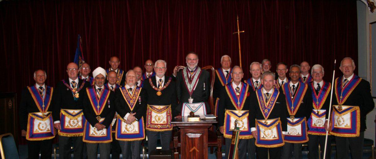 RW Bro David Ashbolt, Provincial Grand Master, visits Loge la France No 459 - 18th June 2018