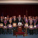 RW Bro David Ashbolt, Provincial Grand Master, visits Loge la France No 459 – 18th June 2018