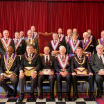 APGM W. Bro. Cliff Sturt visit to Ubique Lodge No 411 on 25th June 2018