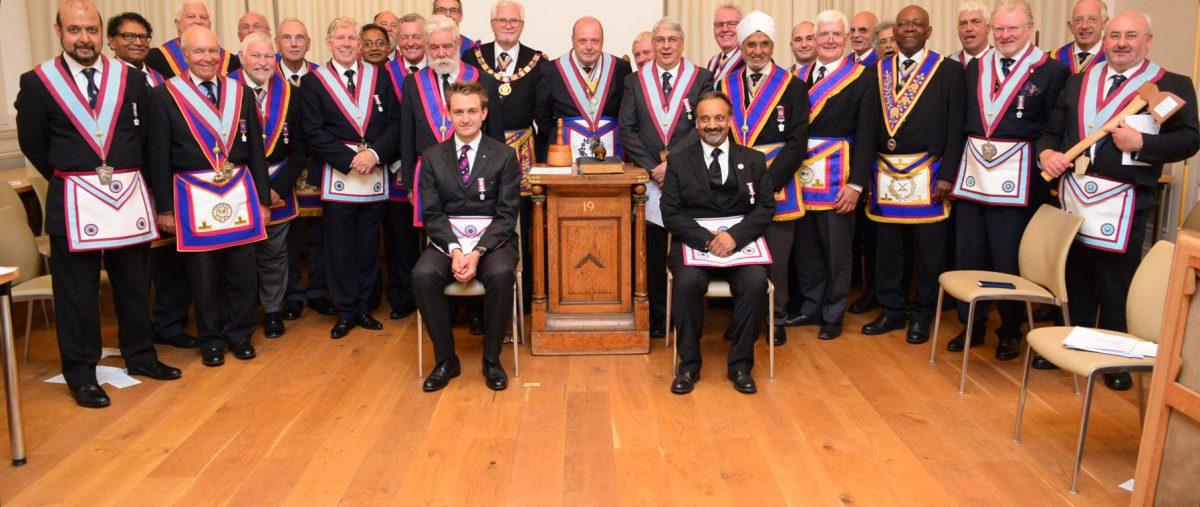 PGM David Ashbolt and Delegation visit Onslow Lodge 361 on Tuesday 3rd July 2018