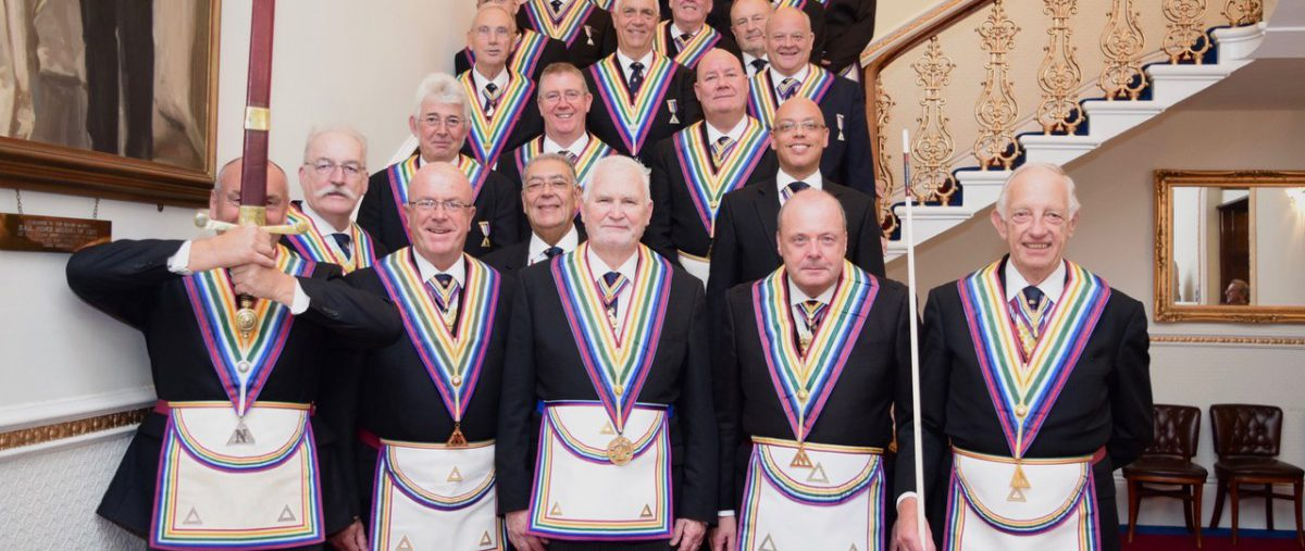 R W Bro David Ashbolt Provincial Grand Master and a large Delegation visit London Installed Masters and London Installed Commanders Lodges 10th September 2018