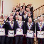 R W Bro David Ashbolt Provincial Grand Master and a large Delegation visit London Installed Masters and London Installed Commanders Lodges 10th September 2018