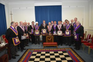 W. Bro. Cliff Sturt (APGM) makes his first official visit of the new season by attending Mapesbury lodge on the 6th September.