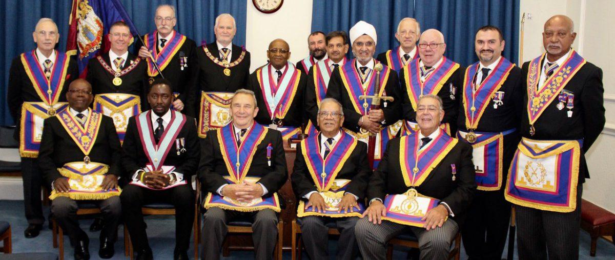 R W Bro David Ashbolt Provincial Grand Master and a Delegation visit London West Africa Lodge 14th September 2018