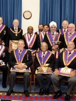 R W Bro David Ashbolt Provincial Grand Master and a Delegation visit London West Africa Lodge 14th September 2018