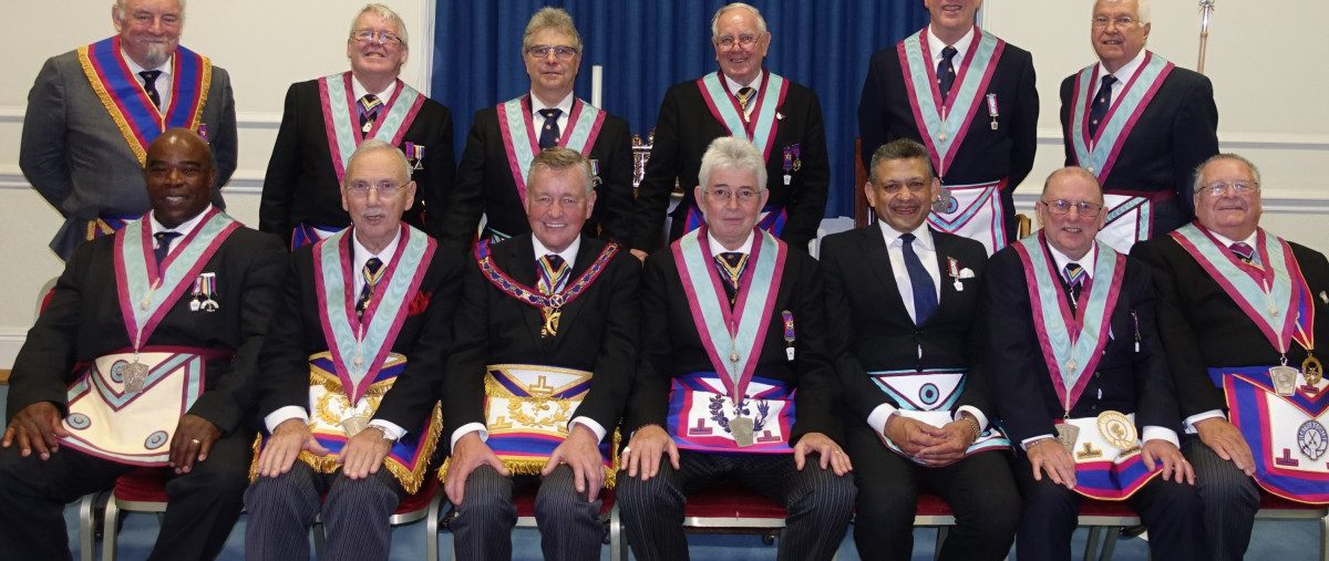 Official Visit to Drury Lane Lodge by APGM Henry Hobson 18th October 2018