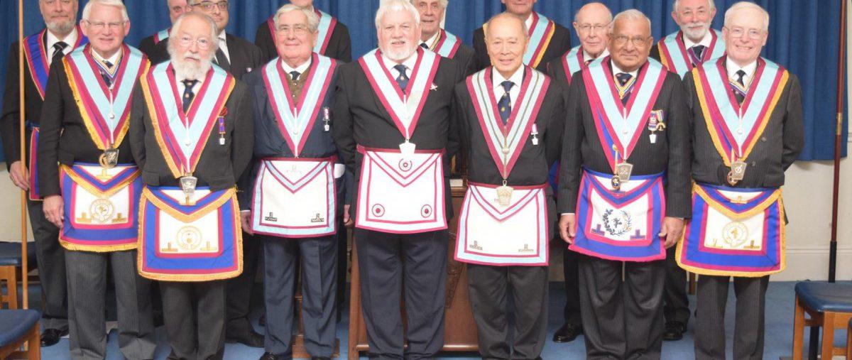 APGM Tim MacAndrews and his Delegation visit Johann Gutenberg RAM and Mark