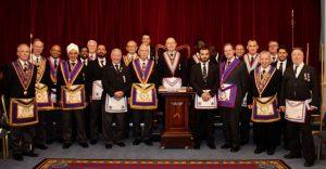 The Provincial Grand Senior Warden W Bro David James PGJD visits Isma Lodge No: 996 on 17th October 2018