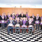 Henniker Lodge 315 receives APGM W Bro Tim MacAndrews on 2nd November 2018