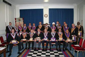 W Bro Cliff Sturt, APGM visits Alliance & Memorial Lodge No 652 – Tuesday 6th November 2018