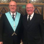 Deputy PGM Installed as WM of the Three Counties Lodge of Northants and Hunts