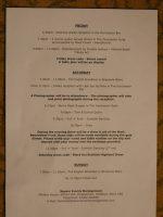 Burns Weekend Friday Night Informal Dinner – another great success