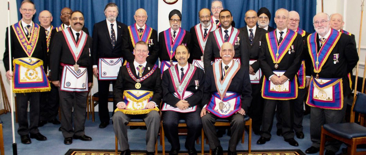 W Bro David Lucas PGJD APGM and a Delegation Visit Halcyon Lodge No: 1118 on 17th January 2019