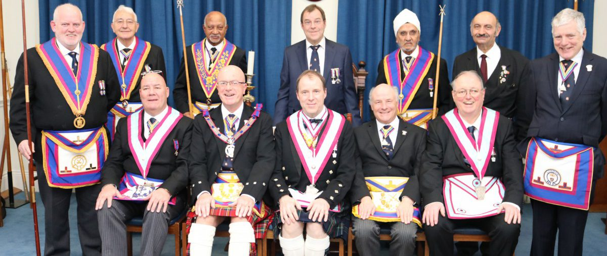 Scots Lodge of Mark Master Masons No.406 18th February 2019