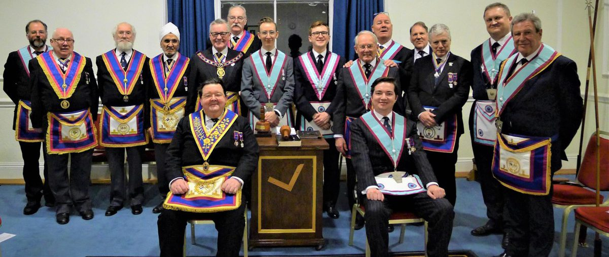 APGM Henry Hobson and his Delegation visits Dramatic Lodge 11th February 2019