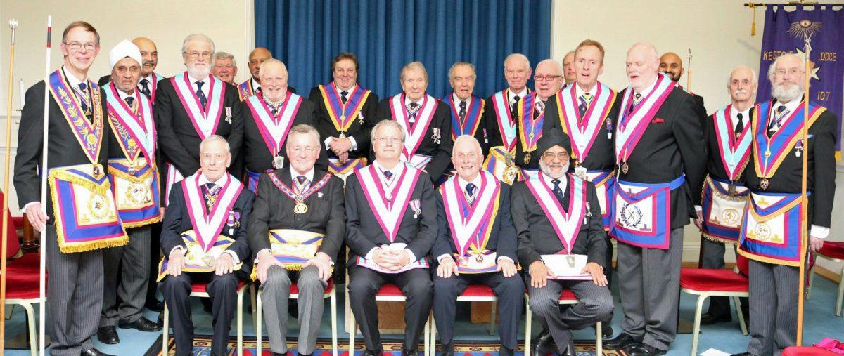 Keystone Lodge of Mark Master Masons No.107, 14th February 2019