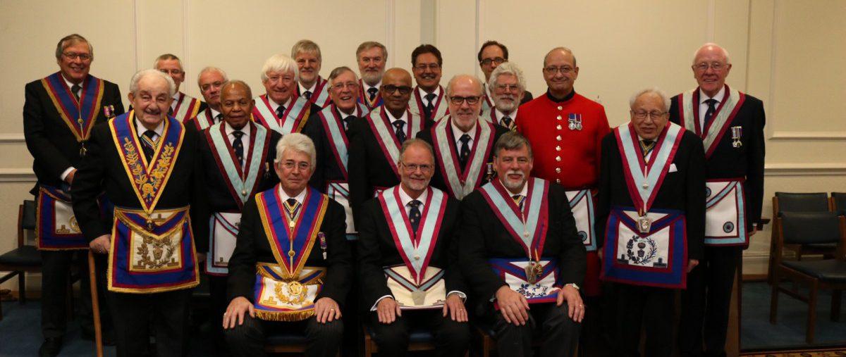 The Saint Mark's Lodge of Mark Master Masons No.1 19th February 2019