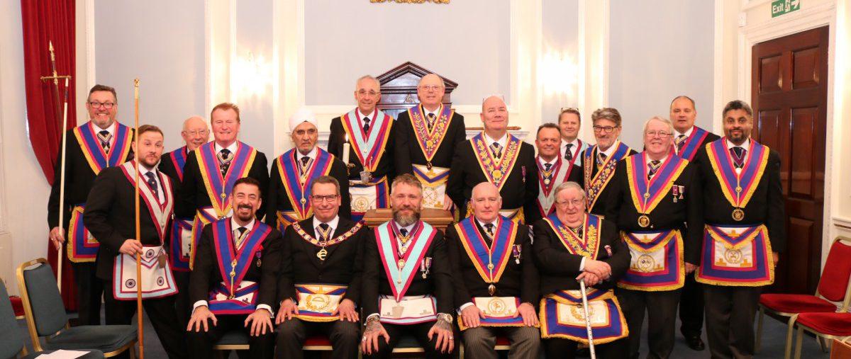 Golden Square Mark Lodge No.856, 20th February 2019
