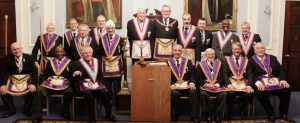 W Bro Henry Hobson PGJD APGM and a Delegation visit Carnarvon Lodge No: 7 on 21st February