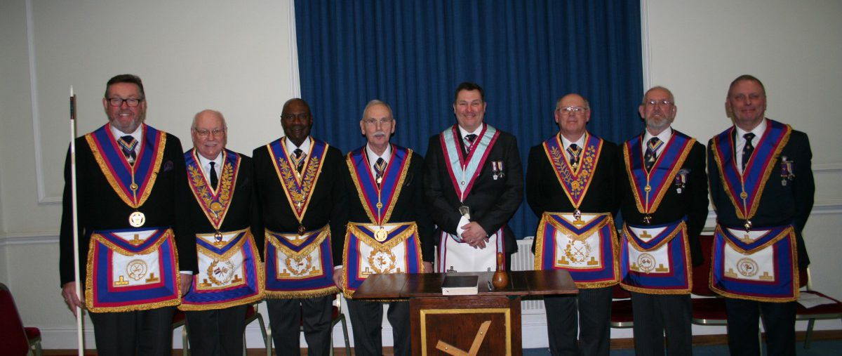 W Bro David James, Provincial Grand Senior Warden, visits Prudence & Verity Lodge No 932 - 18th February 2109