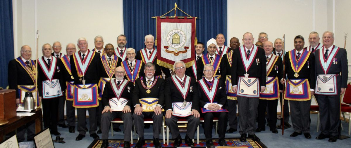 W Bro Clifford Sturt PGJD APGM and a Delegation visit Wicket Lodge No: 577 on 1st February 2019