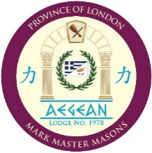 Consecration of Aegean Royal Ark Mariner Lodge - 26 March, 2019