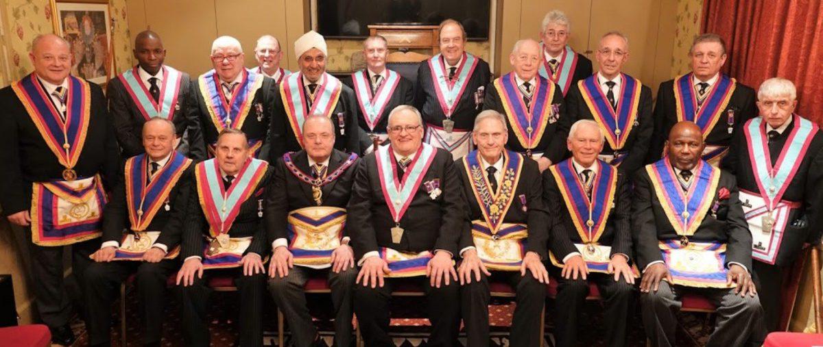 Camden Lodge of Mark Master Masons No. 418, 20th March 2019