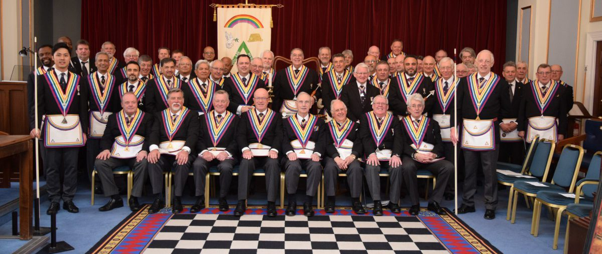 Consecration of Aegean Royal Ark Mariner Lodge 1978 on 26th March 2019