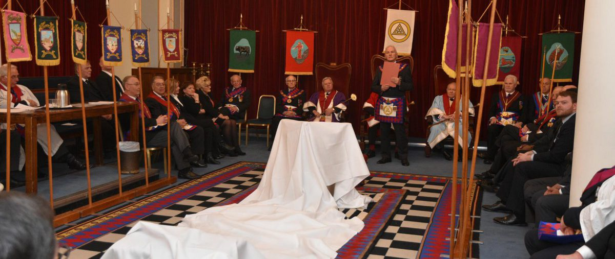 A Royal Arch Awareness event held on the 30th January 2019 at Mark Masons' Hall.