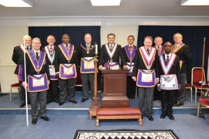 On the 26th February 2019 W. Bro. Tim MacAndrews APGM visited Brixton Lodge No 234.