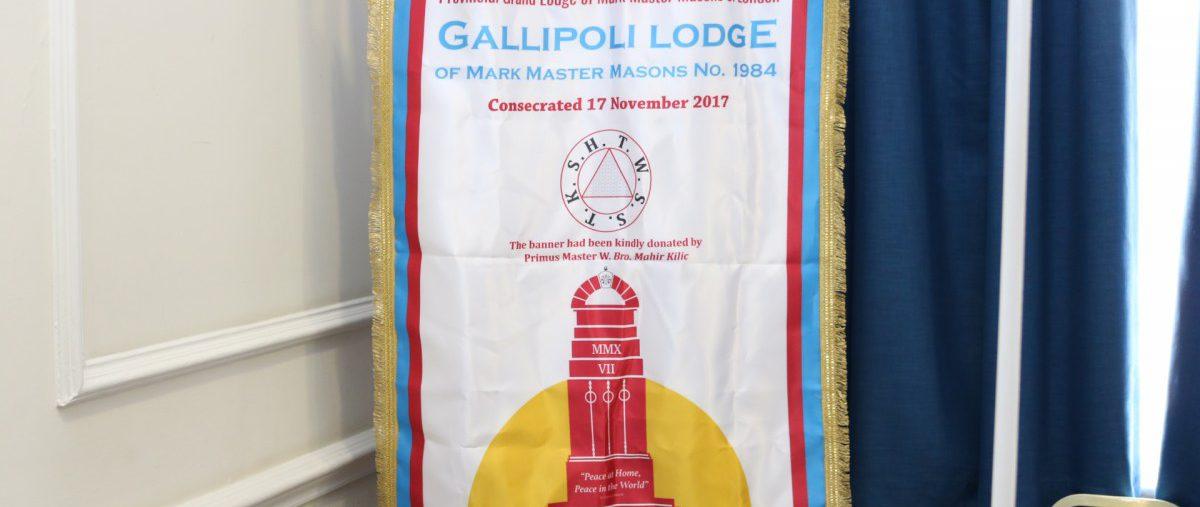 Gallipoli Lodge of Mark Master Masons No.1984, 23rd March 2019