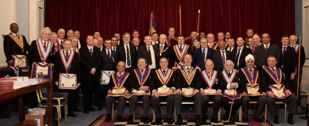 RW Bro David Ashbolt PGM and a Full Team visit Orchestral Lodge No.1534 on Wednesday 6th March 2019